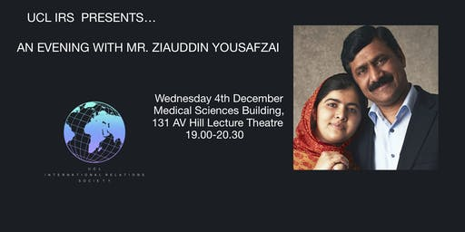 Education and Equality: An Evening with Mr. Ziauddin Yousafzai
