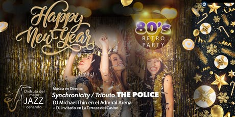 Nochevieja 2019 / 80´s Party entradas