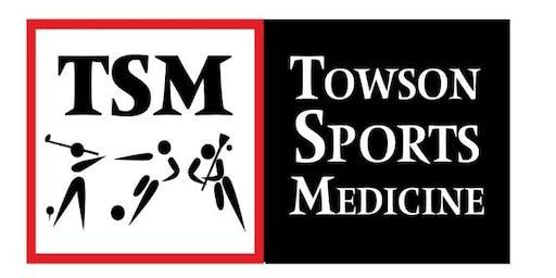 Towson Sports Medicine Continuing Education Series