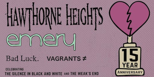 Hawthorne Heights and Emery @ Columbia VIP Upgrade