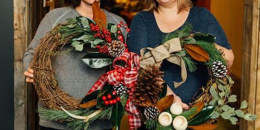 Holiday Wreath Workshop at the Buffalo American Legion!
