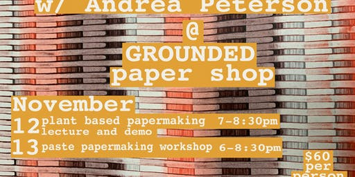 Papermaking with Andrea Peterson