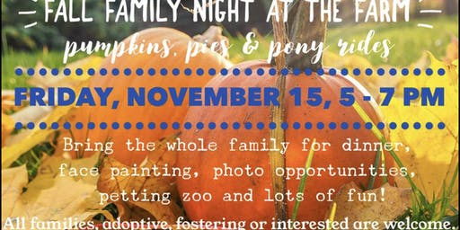 Fall Family Night @ the Farm