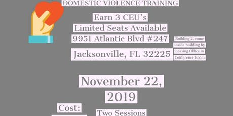 Domestic Violence Training Session 1 tickets