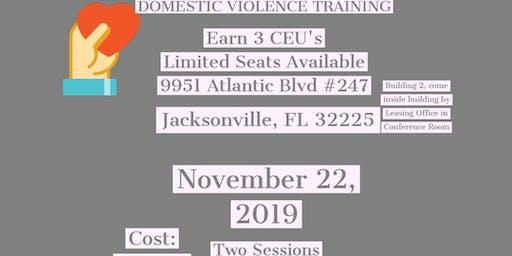 Domestic Violence Training Session 1