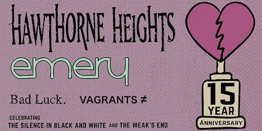 Hawthorne Heights and Emery @ New Orleans VIP Upgrade