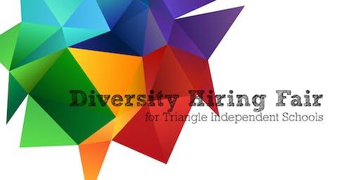 Diversity Hiring Fair for Triangle Independent Sch