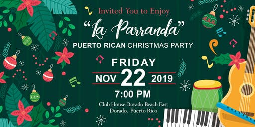"Living ""La Parranda"" Puertorrican Christmas Party"