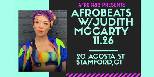 Afro  R&B  Presents: Afrobeats  Dance Workshop w/Judith McCarty