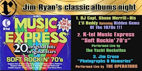 Classic Albums; Jim Croce, K-Tel Music Express tickets