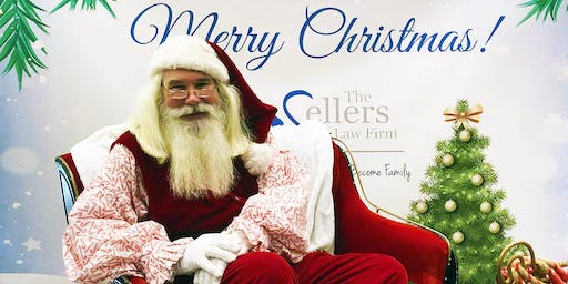 FREE Photos with Santa with The Sellers Law Firm, LLC
