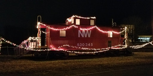 Santa at the Caboose