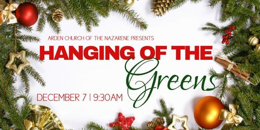 Annual Hanging of the Greens