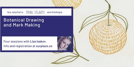 Botanical Drawing and Mark Making tickets