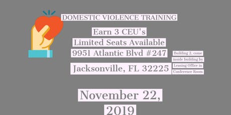 Twins Domestic Violence Training (Session 2) tickets