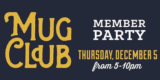 2019 Mug Club Member Party
