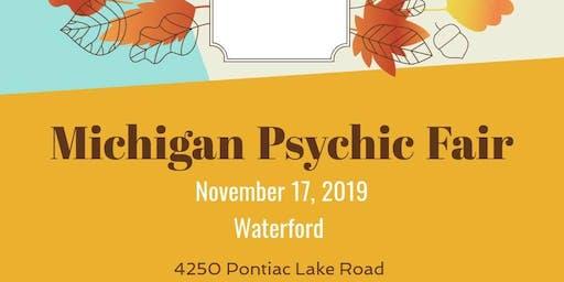 Michigan Psychic Fair Waterford November 17, 2019 Holiday Inn Ex