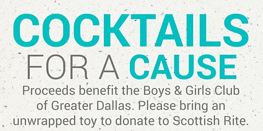 Happy Hour Society presents Cocktails for a Cause powered by Green Lotus