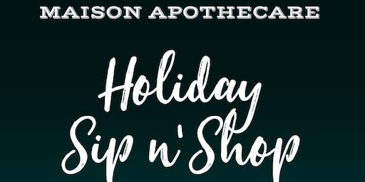 Holiday Sip n' Shop Event at Maison Apothecare, Niagara-on-the-Lake