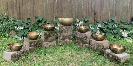 Sound Meditation / Bath / Journey with Singing Bowls and Gong