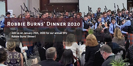 SFU Pipe Band - Robbie Burns' Dinner 2020 tickets