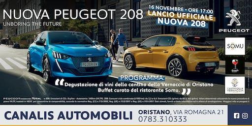 Lancio ufficiale della nuova Peugeot 208