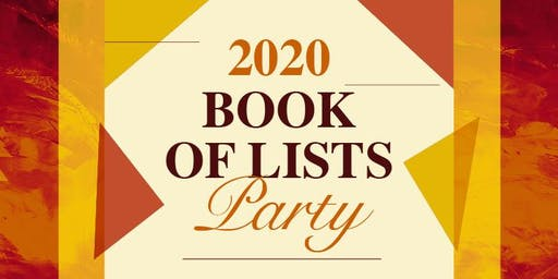2020 Book of Lists Party