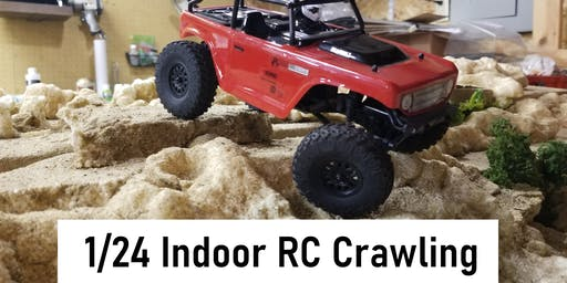 1/24 Indoor RC Crawling at HobbyTown Lincoln North