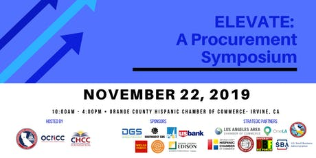 ELEVATE Procurement Symposium - Orange County, CA  tickets