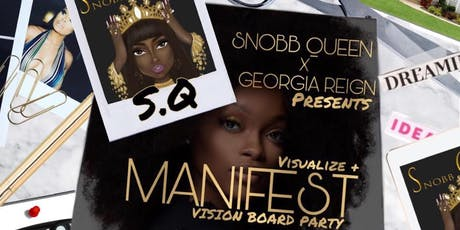 Visualize and Manifest Vision Board Party! tickets