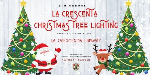 5th Annual La Crescenta Christmas Tree Lighting