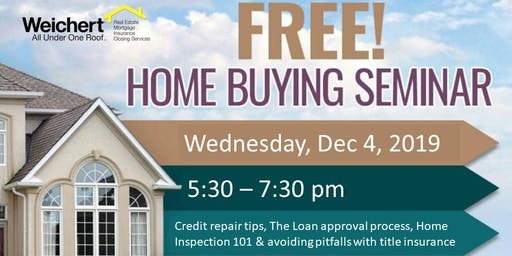 December 4th Homebuying Seminar