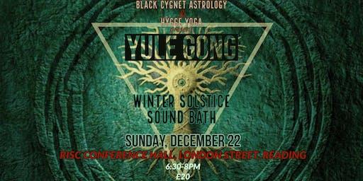 Winter Solstice Yule Gong Bath