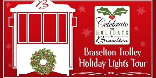 Braselton Trolley Holiday Lights Tour