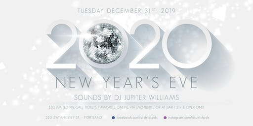 District NYE 2020 Celebration