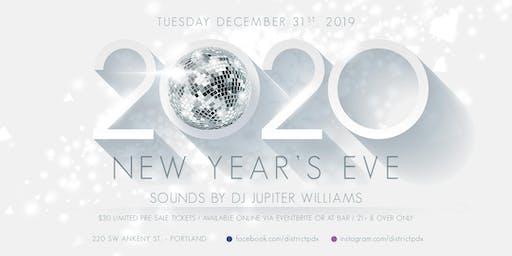 District NYE 2020 Celebration