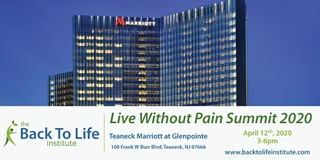 The Back To Life Institute - Live Without Pain Summit 2020 tickets