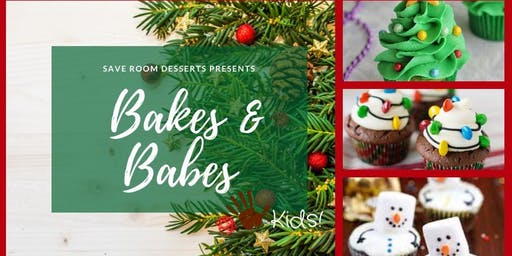 Bakes & Babes! - Holiday Kids Cupcake Decorating Class