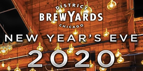 District Brew Yards New Year's Eve Party - Unlimited Craft Beer & BBQ Buffet tickets