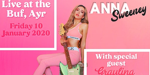 Anna Sweeney live in Ayr (Free Entry!)