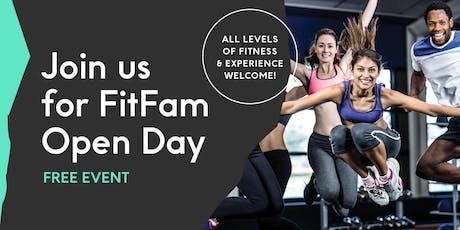 Laneways' FitFam Open Day tickets