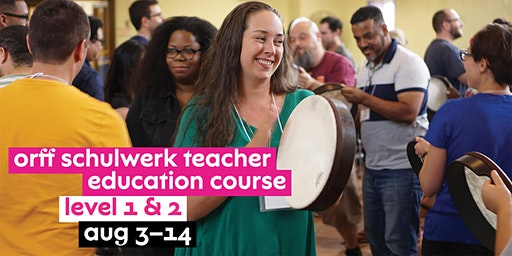 NJPAC Orff Schulwerk Teacher Education Course - Level 1 & 2