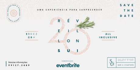 REVEILLON 2020 SUI ROOFTOP ingressos