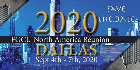 FGCLNA Dallas 2021 Reunion tickets