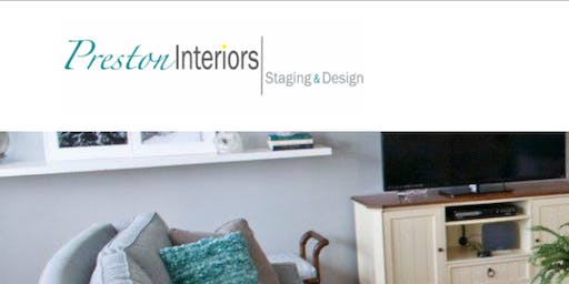 Interior Design and Staging Homes Lunch and Learn