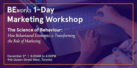 Behavioural Economics Marketing Workshop by BEworks - Toronto tickets