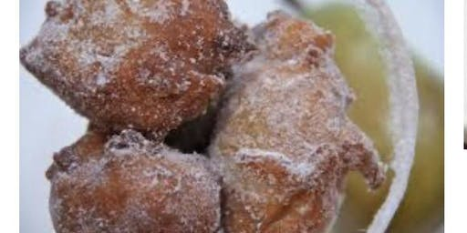 Pear Fritters made with Moscato Wine Plus a Citrus Glaze