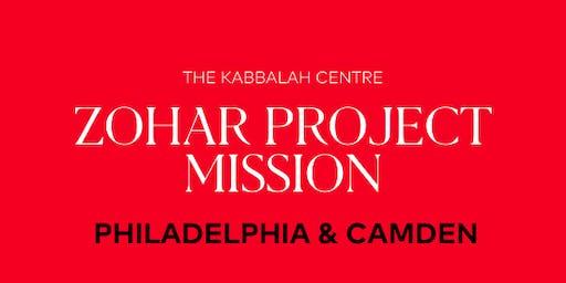 Zohar Project Mission: Philadelphia & Camden - Volunteer Registration