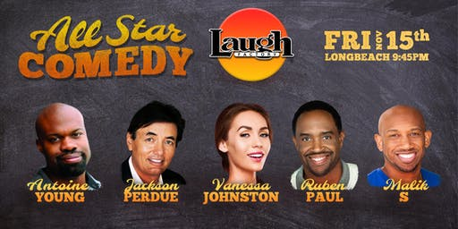 Malik S, Ruben Paul, and more - All-Star Comedy