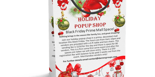 Vendor Holiday PopUp Shop